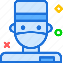 avatar, character, doctor, profile, smileface icon