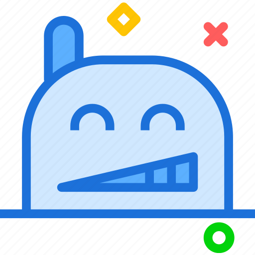 avatar, character, excited, profile, smileface icon