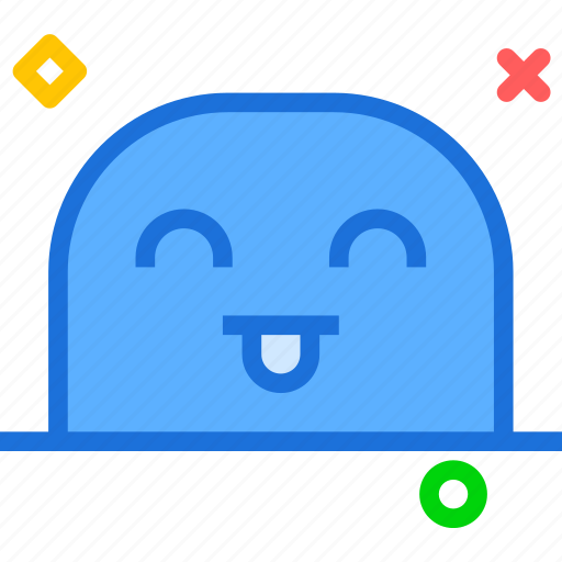 avatar, character, glad, profile, smileface icon