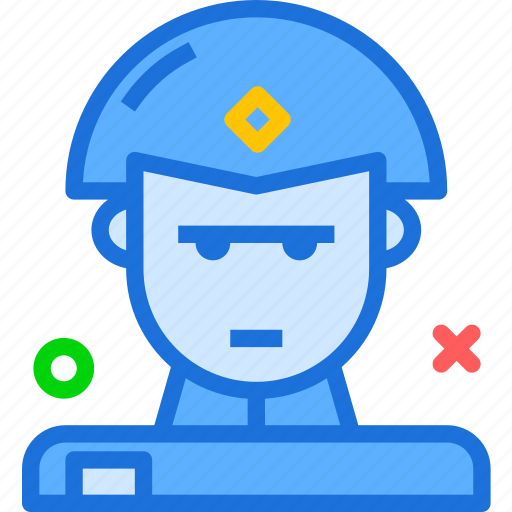 army, avatar, character, instruction, soldier, training, warrior icon