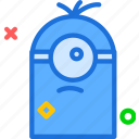 avatar, bob, character, despicableme, minion, profile, smileface icon