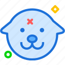 avatar, character, dog, profile, smileface icon