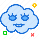 avatar, character, eyeleash, profile, smileface icon