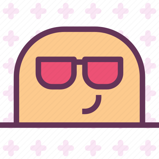 avatar, character, geek, profile, smileface icon