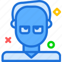 avatar, character, profesor, profile, smileface icon