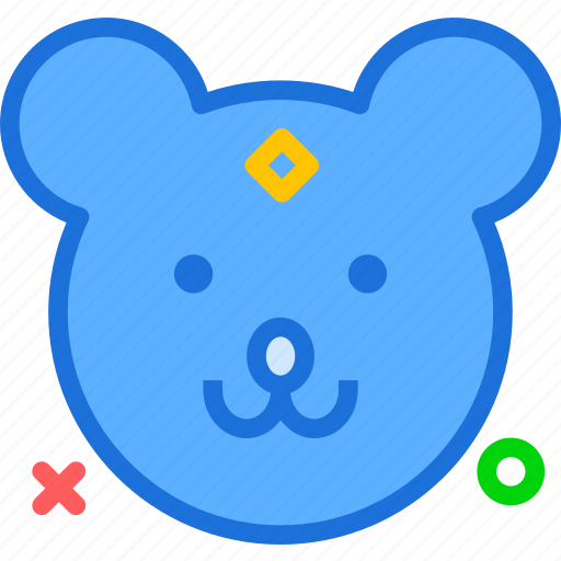 avatar, character, mouse, profile, smileface icon