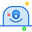 avatar, character, oneye, profile, smileface icon