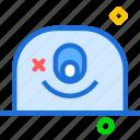 avatar, character, oneye, profile, smileface icon