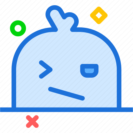 avatar, character, profile, smileface, styled icon