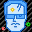 avatar, character, profile, smileface, terminator icon