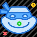 avatar, character, profile, rafaelo, smileface, turtleninja icon