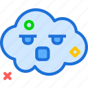 avatar, character, profile, sad, smileface icon
