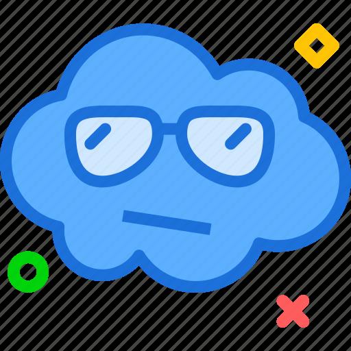 avatar, character, profile, smileface, sunglasses icon