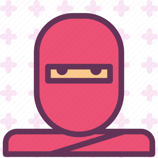 avatar, character, ninja, profile, smileface icon