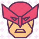 avatar, character, marvel, profile, smileface, superhero, wolverine icon