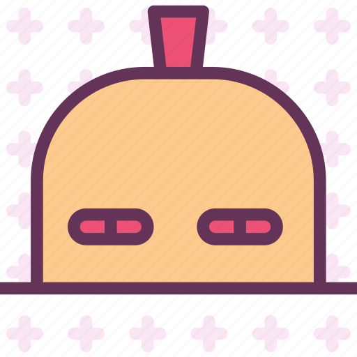 avatar, character, profile, rocking, smileface icon