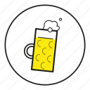 alcohol, alkohol, beer, beermug, bier, binge drinking, cartoon, drinking, flüssigkeit, krug, liquid, maß, maßkrug, mug, nahrungsmittel, oktoberfest, outline, saufen, trinken icon