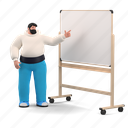 business, character, builder, presentation, lecture, whiteboard, education, projection, project
