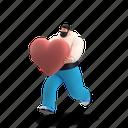 character, builder, relationships, man, love, heart, romance, romantic, happy, emotion
