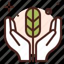 giving, help, nature, saving icon