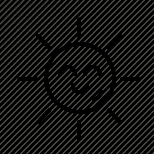 rise, shine, smile, sun icon