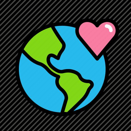 earth, globe1 icon