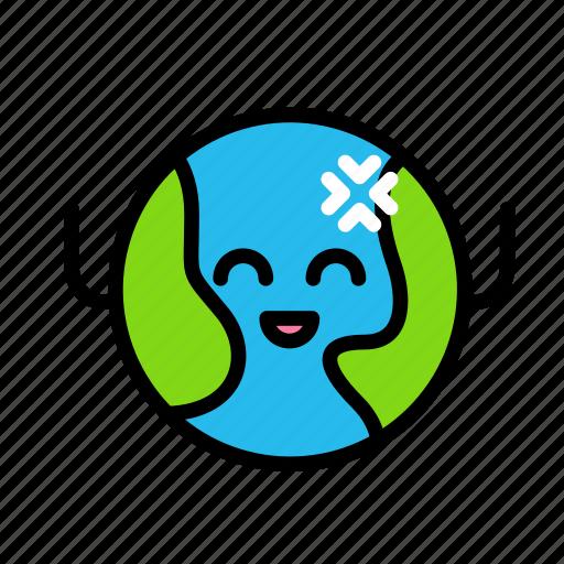earth, globe2 icon