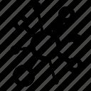 bar, bio, bubble, chart, graph, math, network icon