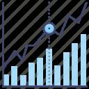analytics, chart, market, stock