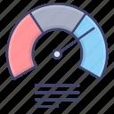 diagram, gauge, graph, meter