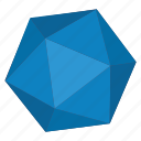 diamond, geometry, hexagon, object, polygon icon