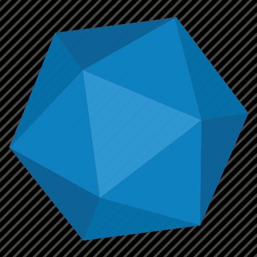 diamond, geometry, hexagon, object, polygon icon