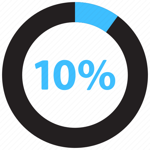 Percent, chart, graph, load, loading, percentage, pie icon - Download on Iconfinder