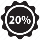 percent, discount, ecommerce, label, price, sale, tag