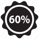 percent, discount, ecommerce, label, price, shopping, tag