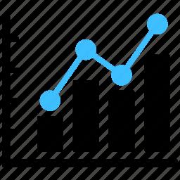 analytics, chart, charts, diagram, graph, report, statistics icon