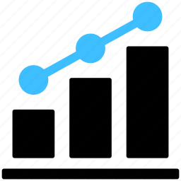 analytics, chart, diagram, graph, line, report, statistics icon