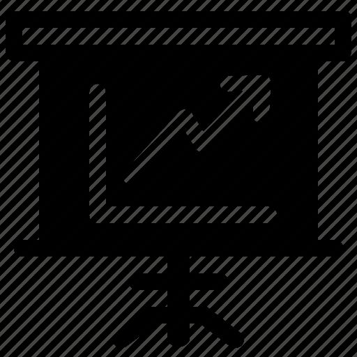 chart, diagram, graph, presentation, statistics icon