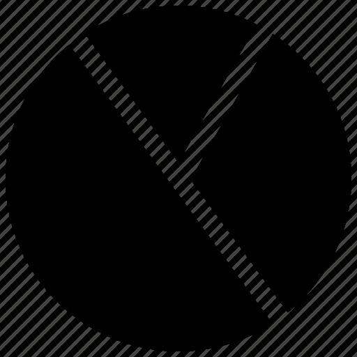 chart, diagram, graph, percentage, pie, presentation icon