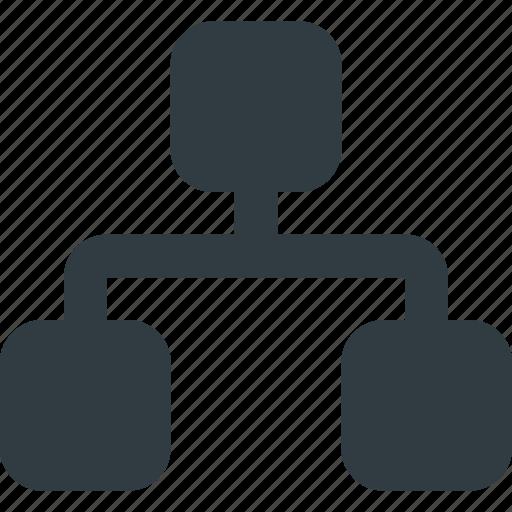 analytics, chart, flow, infographic, insight, presentation icon