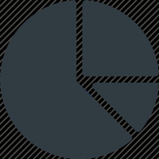 Analytics, chart, fragment, infographic, insight, pie, presentation icon - Download on Iconfinder