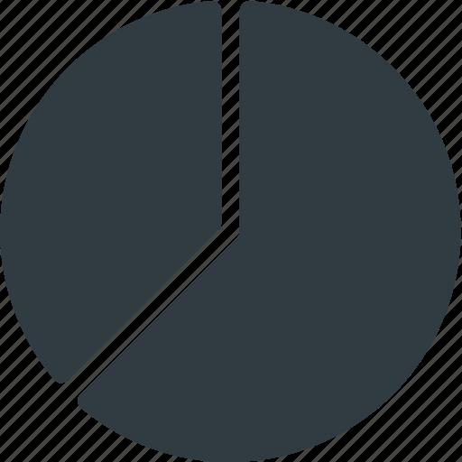 Fragment, insight, pie, chart, analytics, infographic, presentation icon