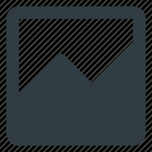 analytics, chart, infographic, insight, line, presentation icon