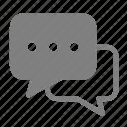 bubble, chat, comments, conversation, message icon