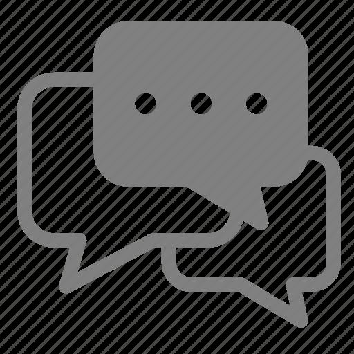 chat, comments, communication, conversation, dialogue, forum, message icon