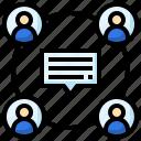 group, conversation, communications, chat, speech, bubble