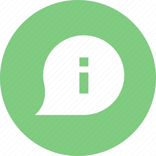 chat, information, message, talk icon