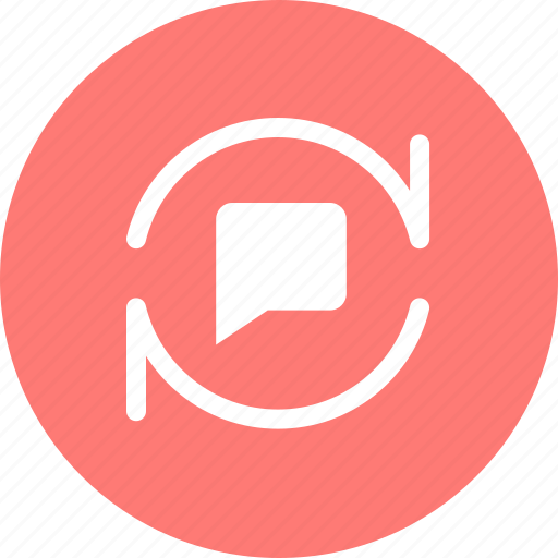 chat, comment, discuss, message icon