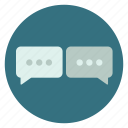 chat, chatting, conversation, message, messages, texting icon
