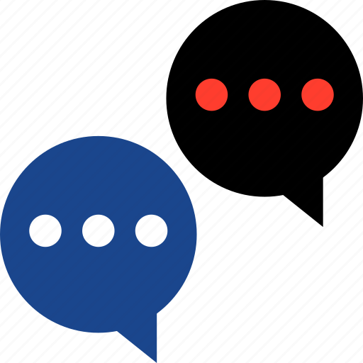 chat, sms, talk, talking, two icon